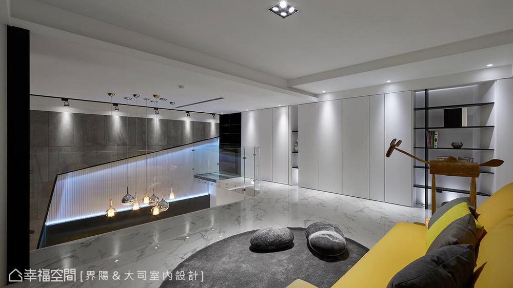 跃层 旧房改造 现代 客厅图片来自乐粉_20171231215035950在默认专辑的分享