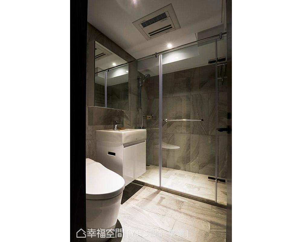 三居 旧房改造 混搭 卫生间图片来自幸福空间在五感体验 92平英式古典宅的分享