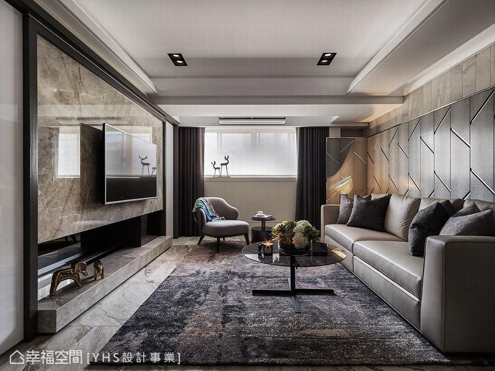 三居 旧房改造 混搭 客厅图片来自幸福空间在五感体验 92平英式古典宅的分享