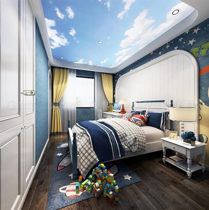 琥珀臻园 别墅装修 美式现代 腾龙设计 儿童房图片来自腾龙设计师朱炯在宝山琥珀臻园别墅项目装修设计的分享