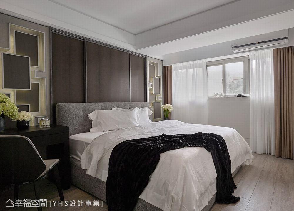 三居 旧房改造 混搭 卧室图片来自幸福空间在五感体验 92平英式古典宅的分享