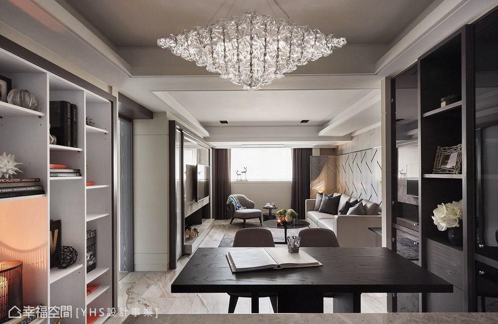 三居 旧房改造 混搭 餐厅图片来自幸福空间在五感体验 92平英式古典宅的分享