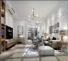 华贸东滩230平别墅项目装修设计