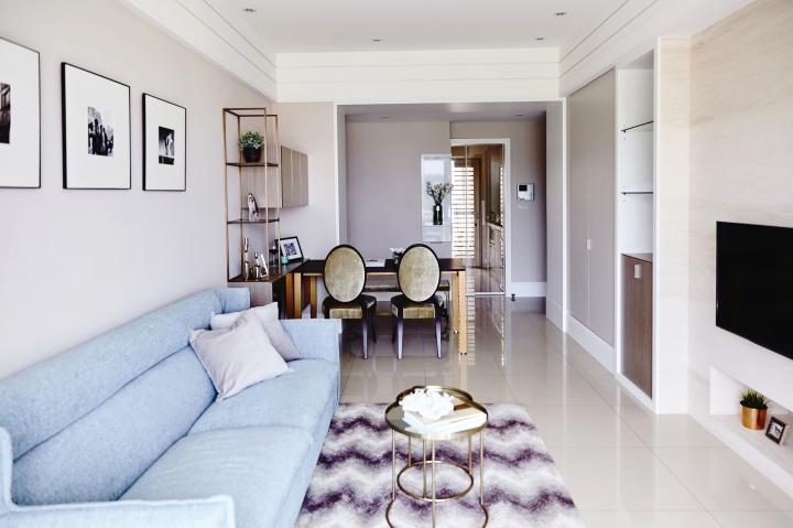 旧房改造 简约 二居 小资 客厅图片来自重庆优家馆装饰在[小两室旧房改造]简约英式质感的分享
