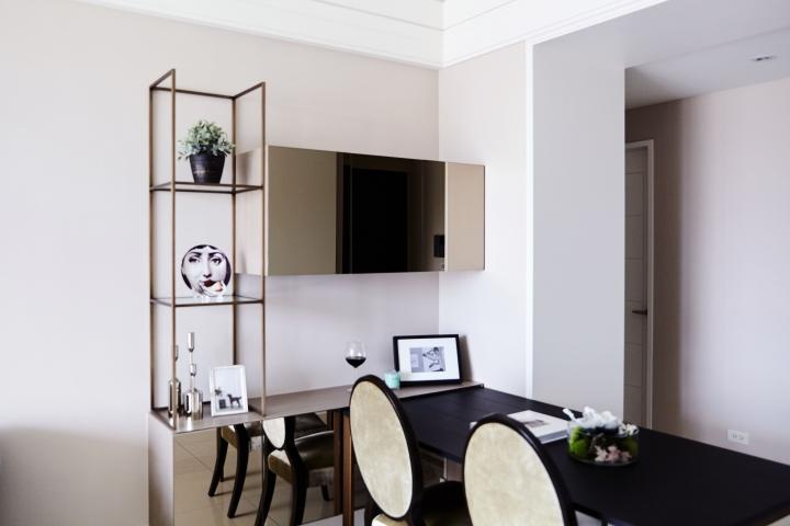 旧房改造 简约 二居 小资 餐厅图片来自重庆优家馆装饰在[小两室旧房改造]简约英式质感的分享