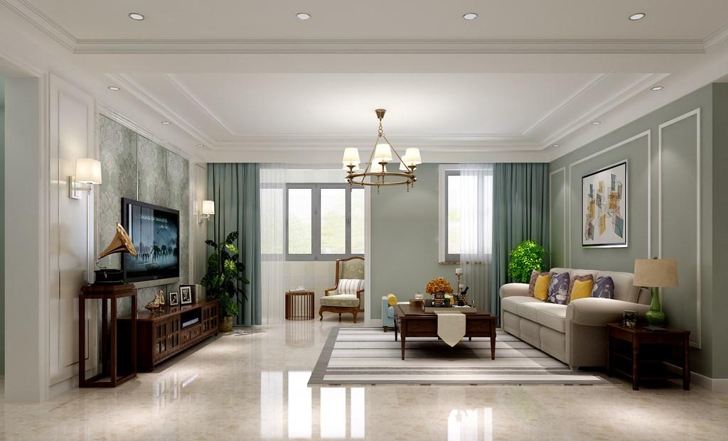 简约 客厅图片来自阿布的小茅屋15034052435在孝义160平米--欧式的分享