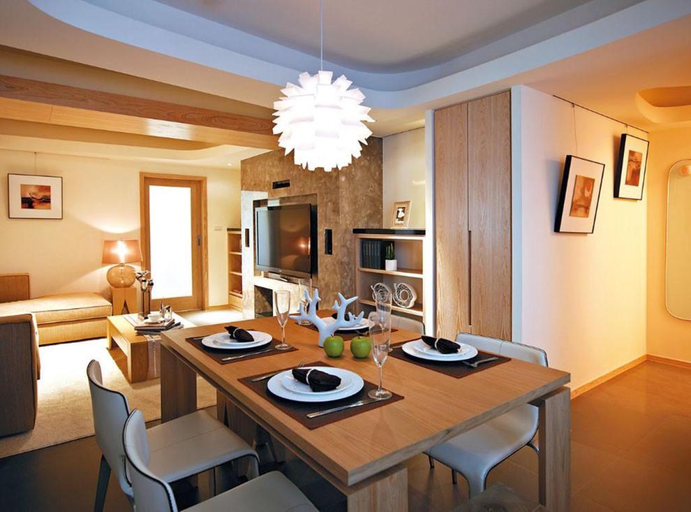 三居 简约 现代 风憬天下 餐厅图片来自我是小样在风憬天下三室123平现代简约风格的分享