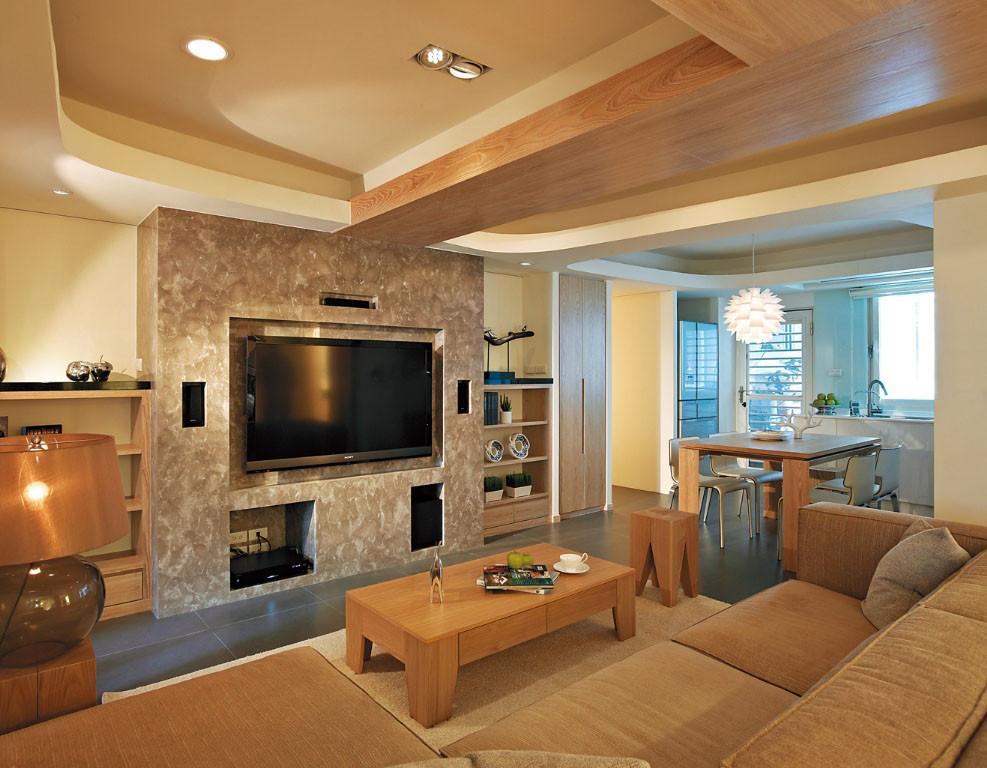 三居 简约 现代 客厅图片来自我是小样在风憬天下三室123平现代简约风格的分享