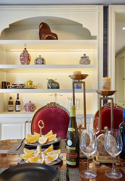 餐厅图片来自家装大管家在温馨质感 115平简约美式三口之家的分享