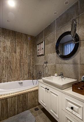 简约 混搭 三居 别墅 80后 美式 卫生间图片来自众意装饰 李潇在融创天朗珑府美式风格案例的分享
