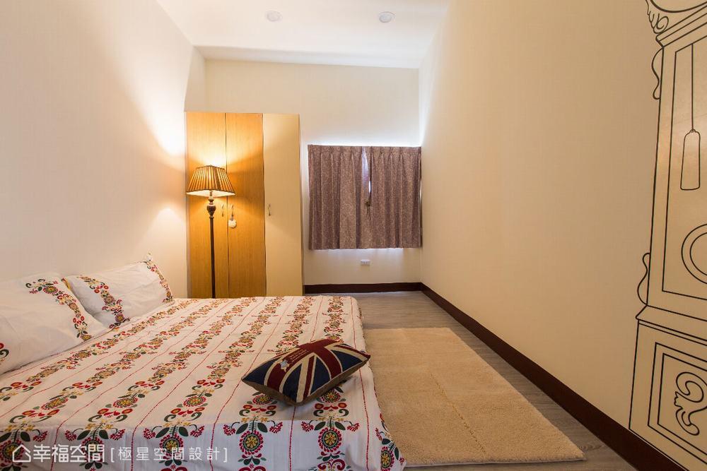 别墅 五居 旧房改造 北欧 卧室图片来自幸福空间在格局大风吹 吹来逆龄北欧小清新的分享