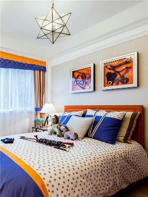 新古典 四居 大户型 复式 跃层 loft 小资 别墅 儿童房图片来自高度国际姚吉智在175平米古典美而不俗的低调高雅的分享