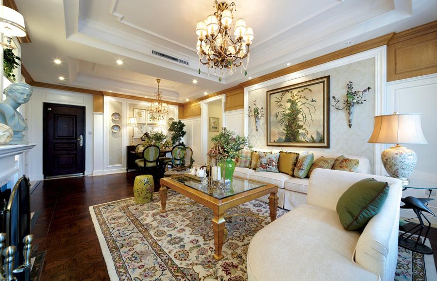 混搭 客厅图片来自天津生活家健康整体家装在金地格林混搭风格的分享