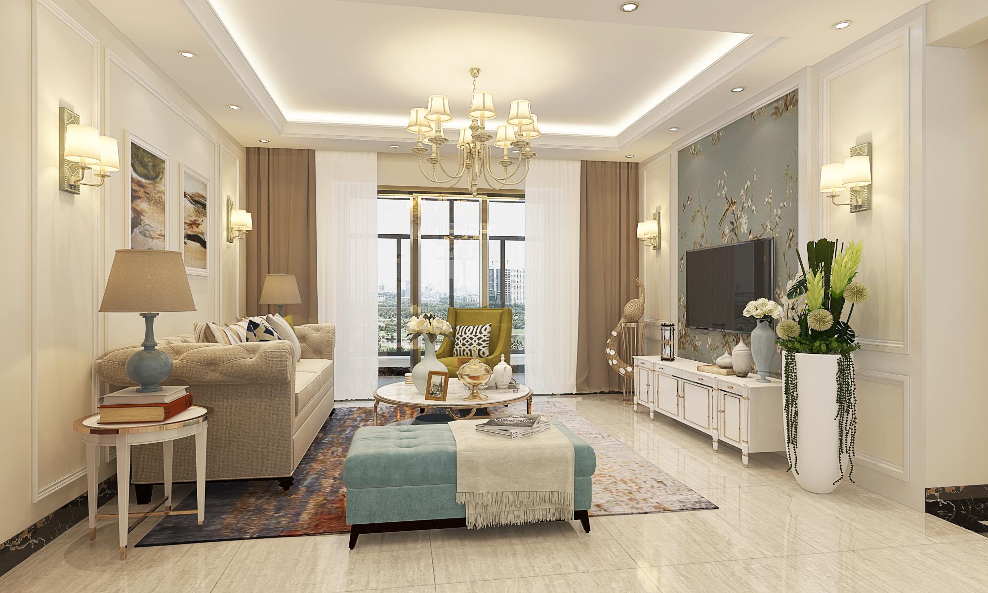 超现代 简约风格 白色调 恒大苹果园 客厅图片来自广西品匠装饰集团在恒大苹果园超现代风格装修案例的分享