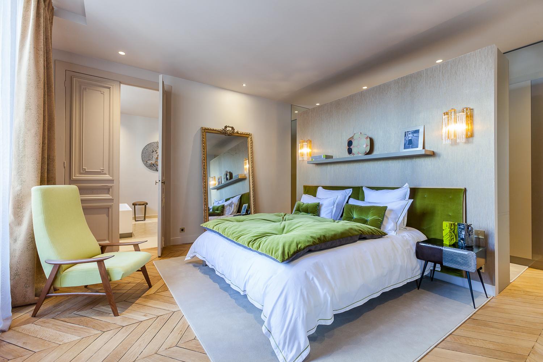 简约 法式风格 别墅 卧室图片来自别墅设计师杨洋在法式风格设计的分享