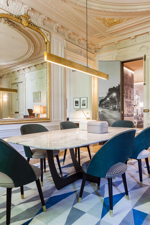 简约 法式风格 别墅 餐厅图片来自别墅设计师杨洋在法式风格设计的分享