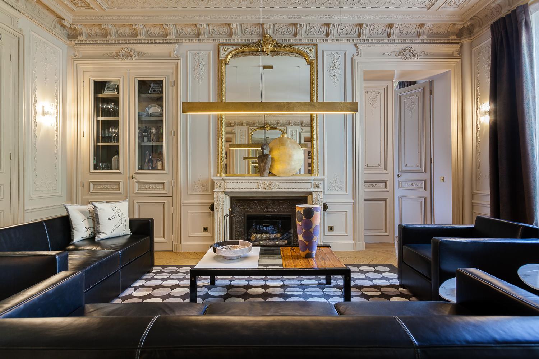 简约 法式风格 别墅 客厅图片来自别墅设计师杨洋在法式风格设计的分享