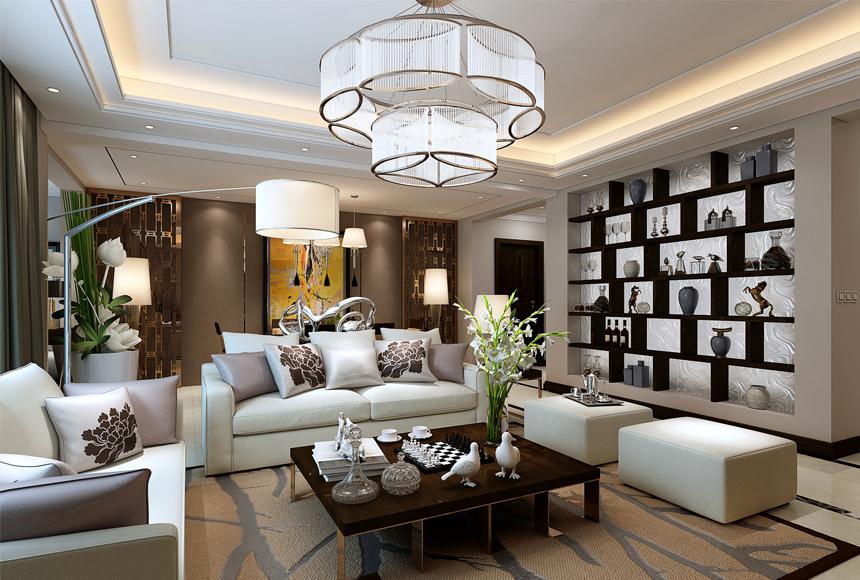 简约 三居 白领 收纳 80后 家居 设计 时尚 装修 客厅图片来自生活家-月昂在美洲故事156㎡现代风格案例鉴赏的分享