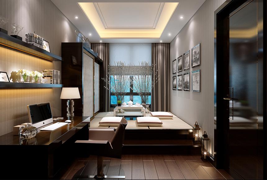 简约 三居 白领 收纳 80后 家居 设计 时尚 装修 卧室图片来自生活家-月昂在美洲故事156㎡现代风格案例鉴赏的分享