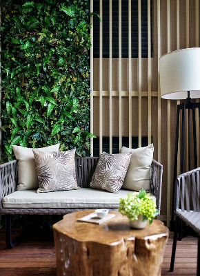 简约 中式 四居 收纳 80后 家居 装修 设计 高端 阳台图片来自生活家-月昂在保利125㎡新中式风格案例鉴赏的分享
