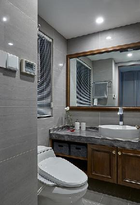 现代 混搭 三居 白领 卫生间图片来自家装大管家在秀外慧中 116平现代混搭风3居的分享
