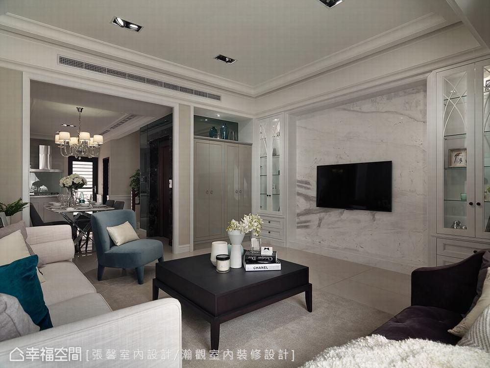 别墅 四居 古典 样板间 客厅图片来自幸福空间在贴近人心的设计 盖一栋美的房子的分享