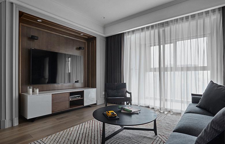 现代 混搭 三居 白领 客厅图片来自家装大管家在秀外慧中 116平现代混搭风3居的分享
