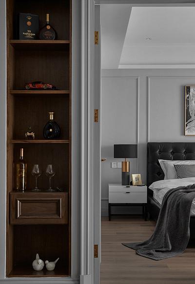 现代 混搭 三居 白领 卧室图片来自家装大管家在秀外慧中 116平现代混搭风3居的分享