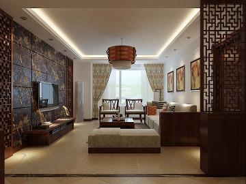 中海国际167平新中式风格