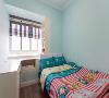 儿童房:三个月的装修时间,从空无一物到温馨的家,为业主打造了一个暖心的三口之家。