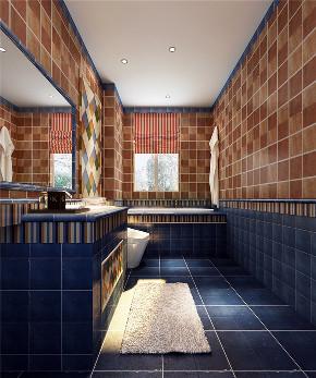 简约 三居 白领 收纳 80后 美式 生活家 装修 家居 卫生间图片来自生活家-月昂在中航城113㎡美式风格鉴赏!的分享