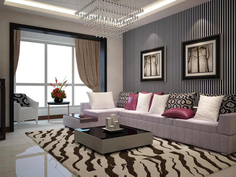 公园新世纪 三室 现代 简约 峰光无限 客厅图片来自我是小样在公园新世纪三室117平现代简约的分享