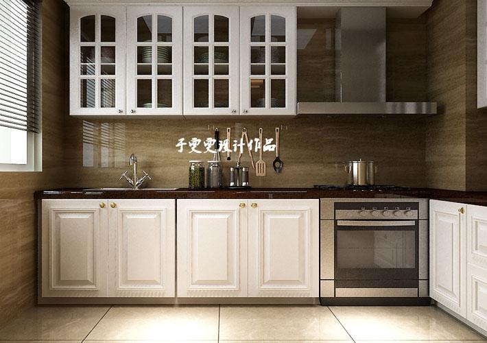 百家装饰 和平之门 沈阳装修 115平 效果图 厨房图片来自百家装饰--小莹在百家装饰-中海和平之门-简欧风格的分享
