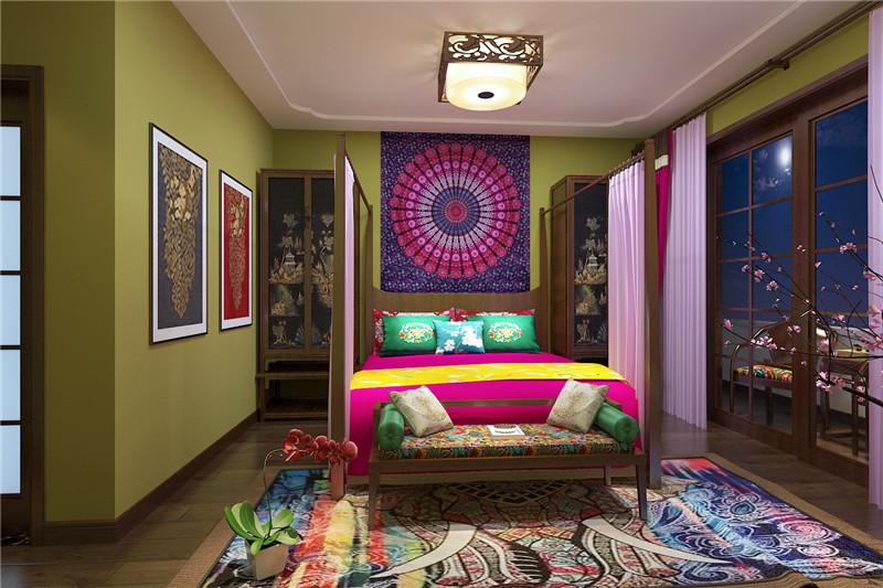 龙发装饰 三居 新中式 装修效果图 装修哪家好 儿童房图片来自龙发装饰天津公司在力高阳光海岸三居新中式风格的分享