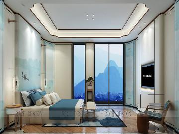 别墅装饰兰江山第中式风格案例