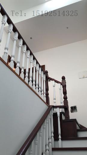 别墅 美式 实创 龙湖 楼梯图片来自快乐彩在龙湖滟澜海岸别墅装修300平美式的分享