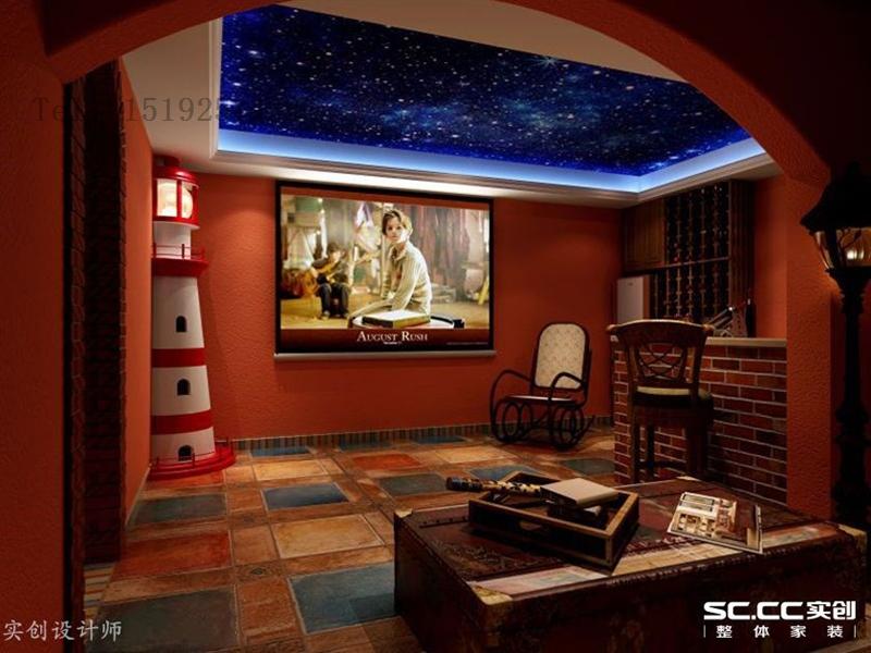 别墅 明德小镇 实创 地中海 客厅图片来自快乐彩在明德小镇小独栋244平地中海的分享