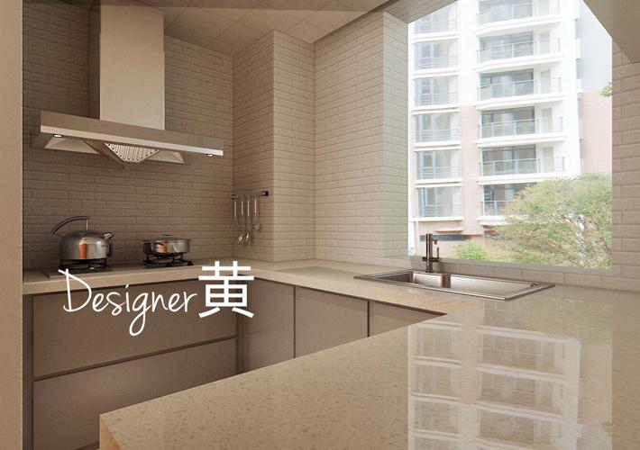 厨房图片来自沈阳百家装饰小姜在百家装饰龙湖唐宁99平现代风格的分享