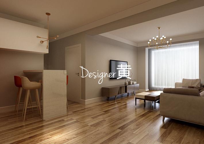 客厅图片来自沈阳百家装饰小姜在百家装饰龙湖唐宁99平现代风格的分享