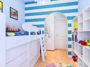 欧式 简约 三居 收纳 80后 儿童房图片来自阳光力天装饰在力天装饰-景杉-100㎡-简欧风格的分享