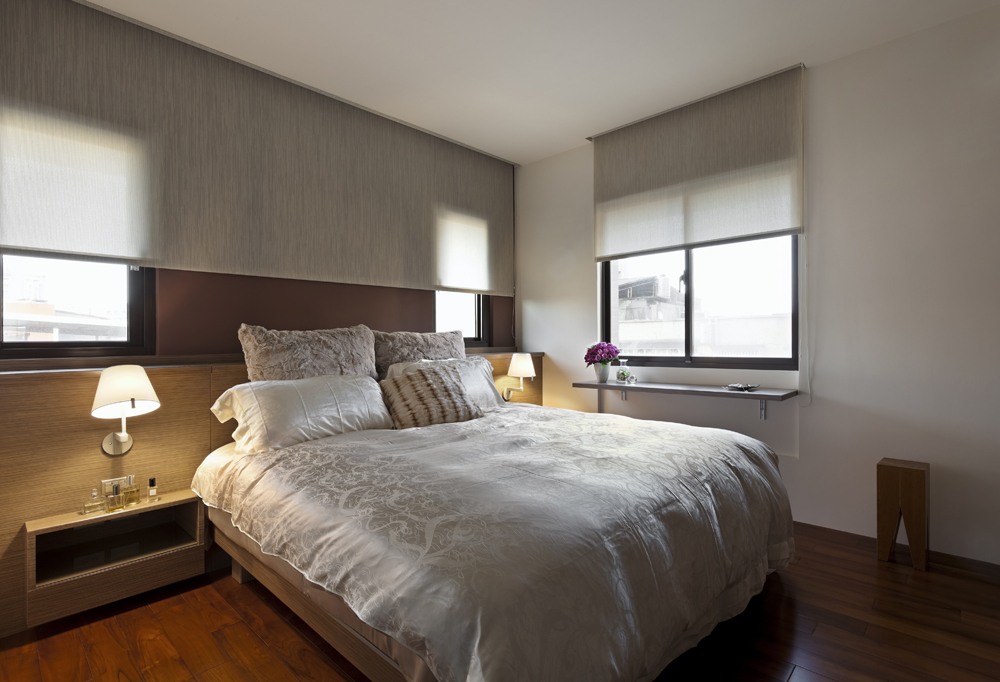 简约 二居 80后 小资 卧室图片来自乐粉_20171003104628611在兰州幸福家园现代简约风格装修的分享