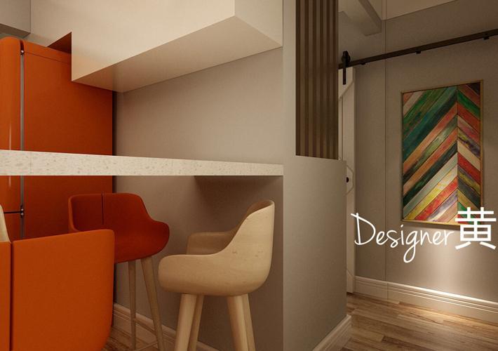 餐厅图片来自沈阳百家装饰小姜在百家装饰龙湖唐宁99平现代风格的分享
