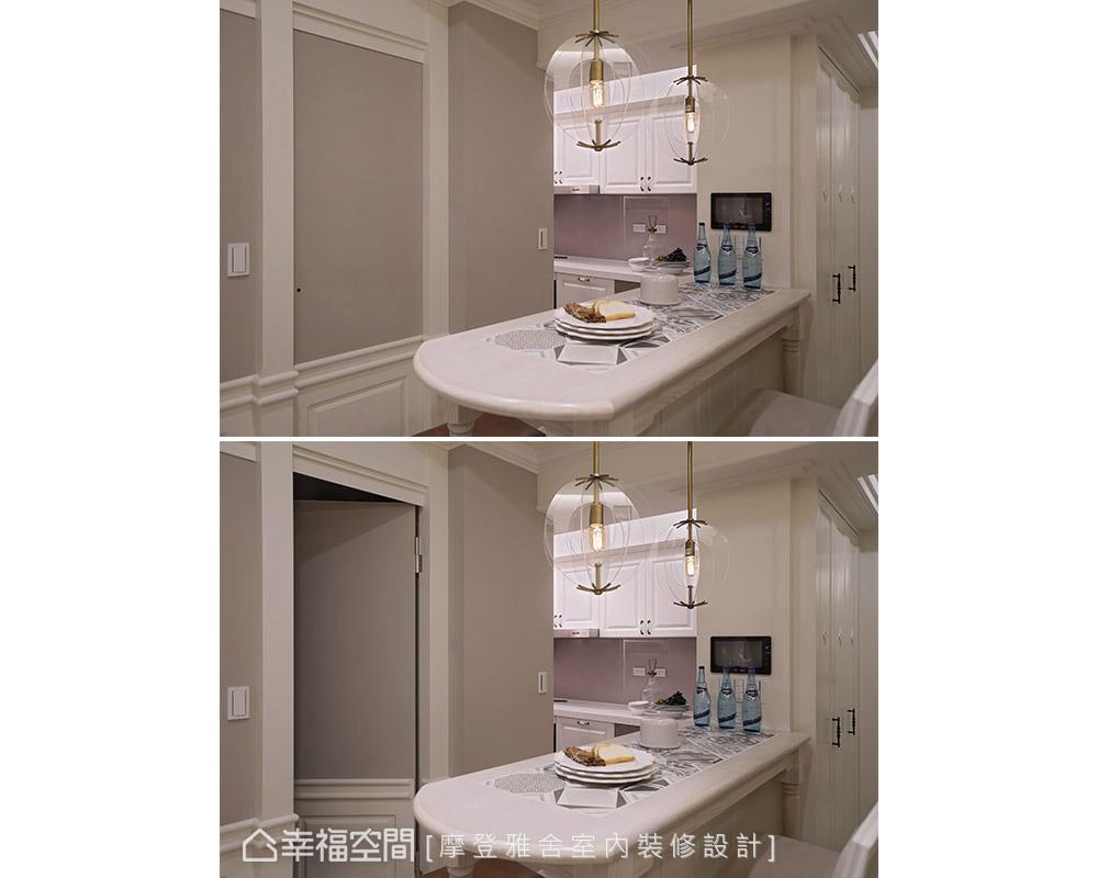 二居 美式 小户型 餐厅图片来自幸福空间在美式摩登感 风水宅也能很精品的分享