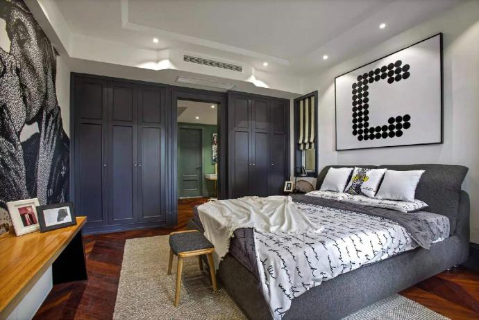 卧室图片来自也儿在混搭的分享