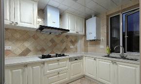 美式 混搭 三居 白领 厨房图片来自家装大管家在110平美式混搭温馨3居 浪漫风情的分享