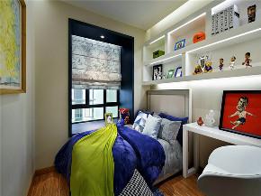 现代 三居 大户型 复式 跃层 白领 80后 小资 儿童房图片来自高度国际姚吉智在150平米后现代风质感生活的诠释的分享