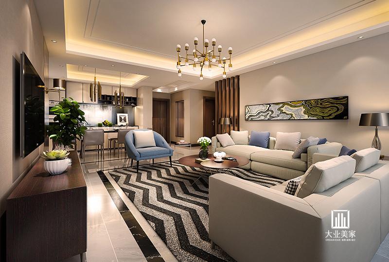 三居 简约 东润泰和 大业美家 客厅图片来自158xxxx9432在东润泰和的分享