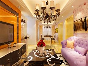 新古典 三居 白领 小资 80后 客厅图片来自阳光力天装饰在力天装饰-金地艺境-95㎡-新古典的分享