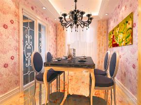 新古典 三居 白领 小资 80后 餐厅图片来自阳光力天装饰在力天装饰-金地艺境-95㎡-新古典的分享