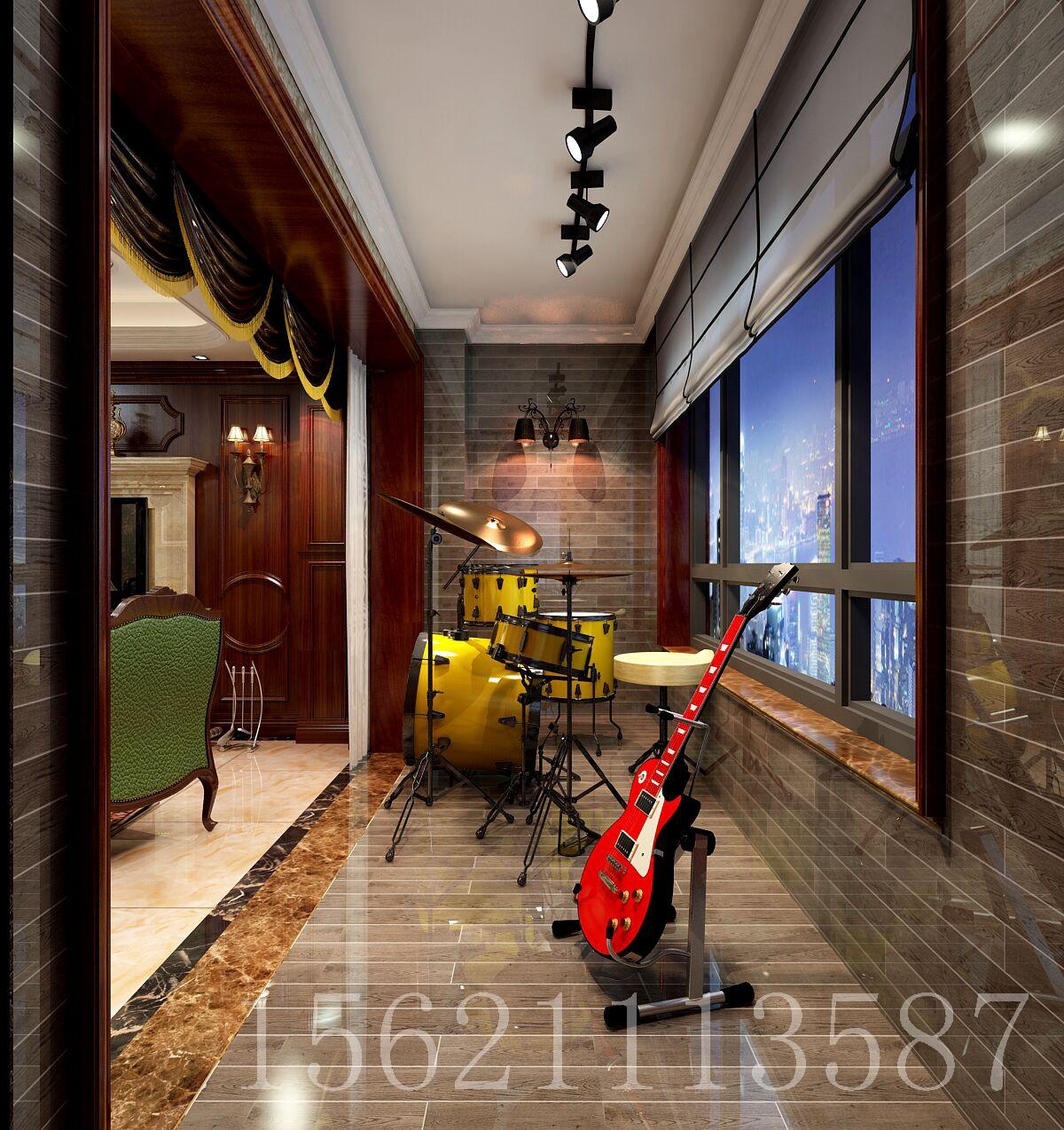 美式风格 阳台 阳台图片来自阔达装饰小段在温莎郡 美式风格的分享